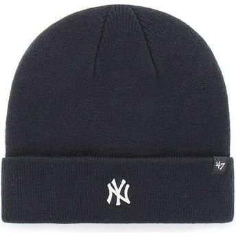 Gorro azul marinho da New York Yankees MLB Cuff Knit Centerfield da 47 Brand