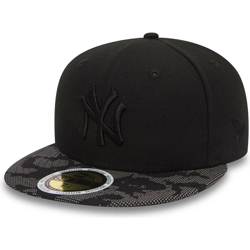 bone-plano-preto-justo-com-logo-preto-59fifty-night-time-da-new-york-yankees-mlb-da-new-era