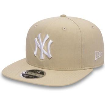 Boné plano rosa snapback 9FIFTY Lightweight Essential da New York Yankees MLB da New Era