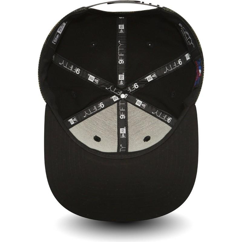 f298f960305 ... Mesh Overlay da New York Yankees MLB da New Era. bone-plano-camuflagem- snapback-com-logo-e-pala-