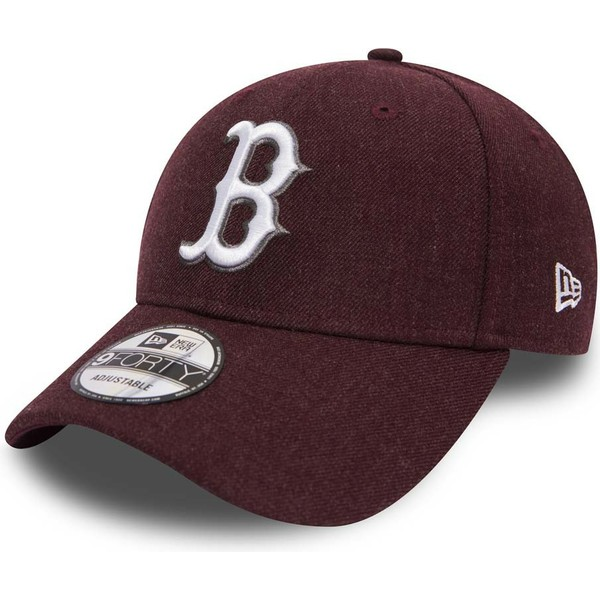 bone-curvo-violeta-ajustavel-9forty-seasonal-heather-da-boston-red-sox-mlb-da-new-era