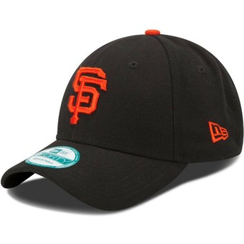 Boné curvo preto ajustável 9FORTY The League da San Francisco Giants MLB da New Era