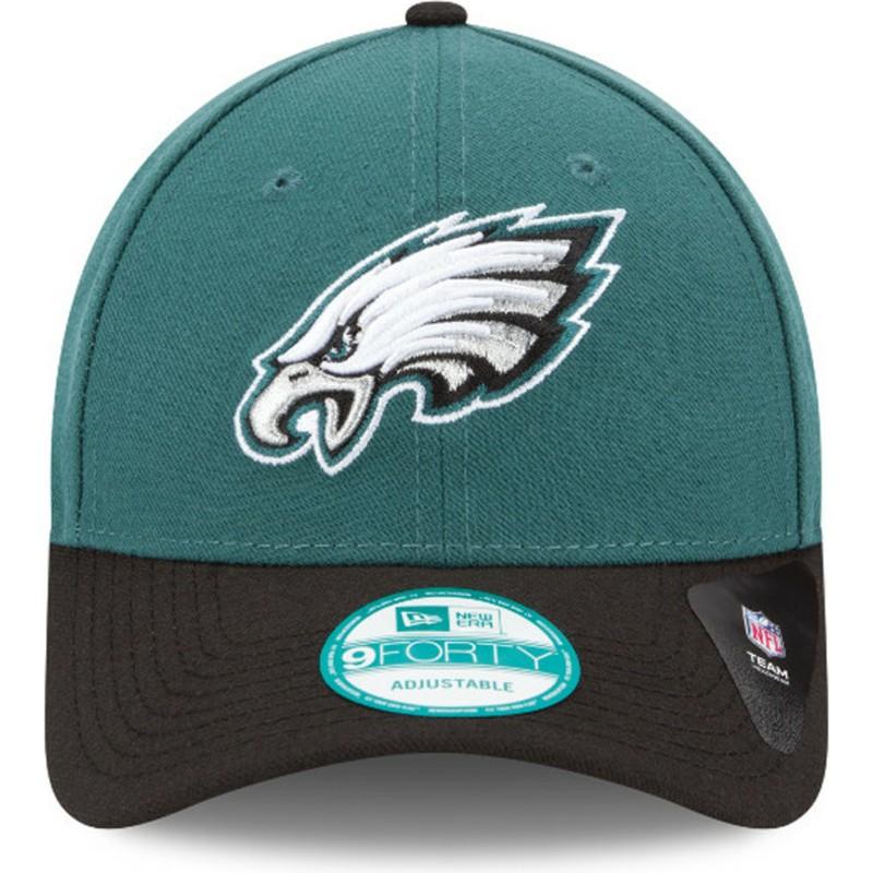 Boné curvo verde e preto ajustável 9FORTY The League da Philadelphia ... e947479ef30