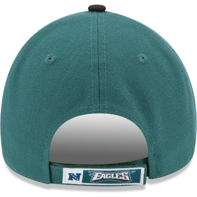 Boné curvo verde e preto ajustável 9FORTY The League da Philadelphia ... 4b2821cff6bd2