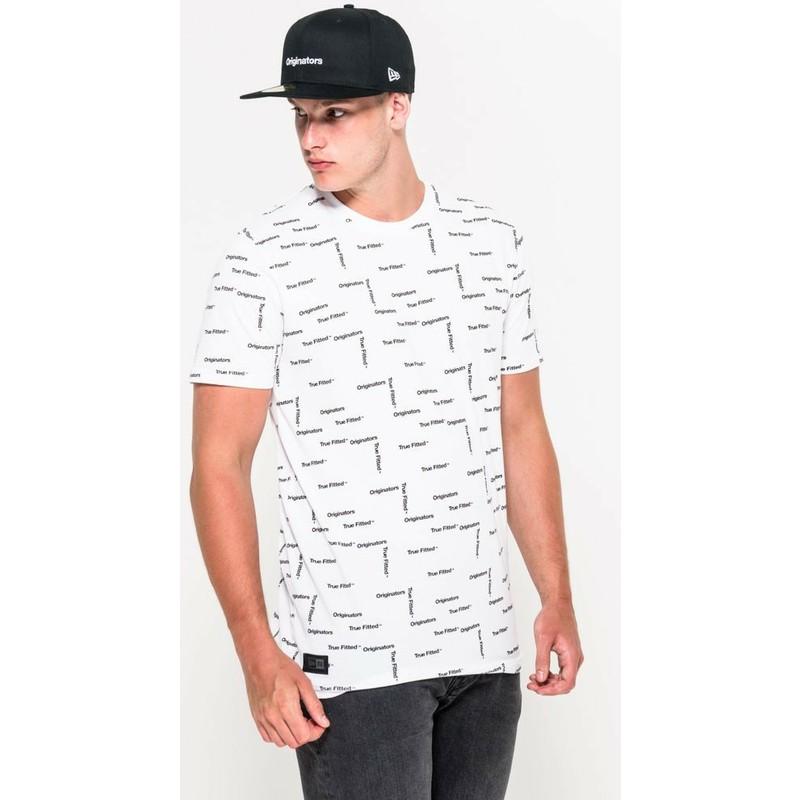 Camiseta de manga curta branco Originators da New Era  comprar ... 1ea019cb396f5