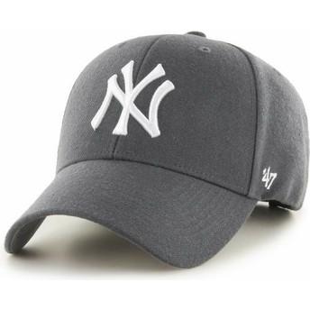 Boné curvo cinza escuro da New York Yankees MLB MVP da 47 Brand