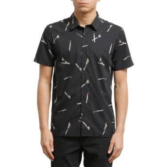 Camisa manga curta preta Waits Black da Volcom