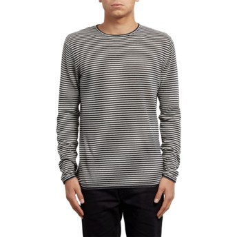 Camisola cinza Harweird Stripe Clay da Volcom
