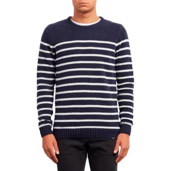 Camisola azul marinho Edmonder Striped Navy da Volcom