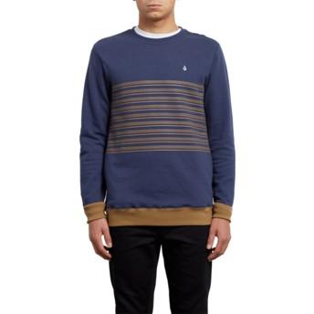 Sweatshirt azul Threezy Deep Blue da Volcom