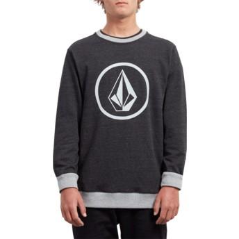 Sweatshirt preto Stone Sulfur Black da Volcom