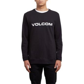 Sweatshirt preto Imprint Black da Volcom