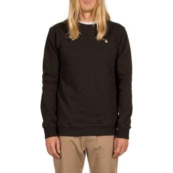 Sweatshirt preto Single Stone Asphalt Black da Volcom