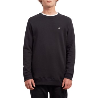Sweatshirt preto Single Stone Black da Volcom