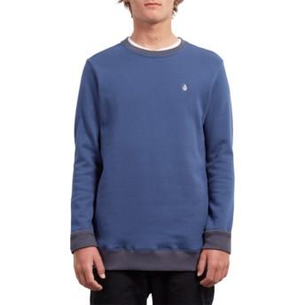 Sweatshirt azul Single Stone Matured Blue da Volcom
