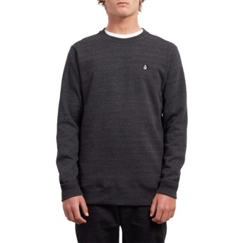 Sweatshirt preto Single Stone Sulfur Black da Volcom