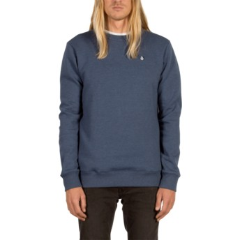 Sweatshirt azul Single Stone Smokey Blue da Volcom
