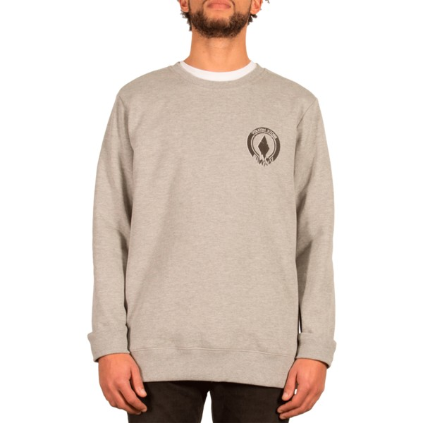sweatshirt-cinza-supply-stone-grey-da-volcom