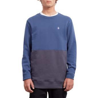 Sweatshirt azul Single Stone Division Matured Blue da Volcom