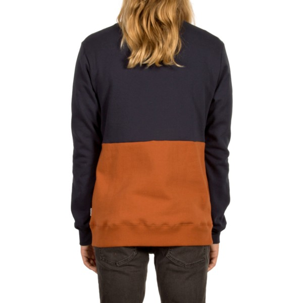 sweatshirt-castanho-single-stone-division-copper-da-volcom