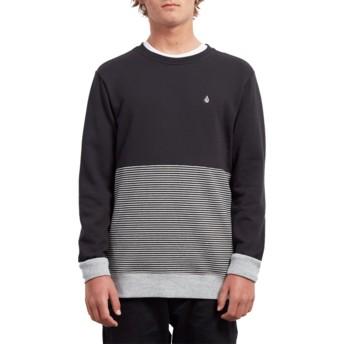 Sweatshirt preto Threezy Black da Volcom