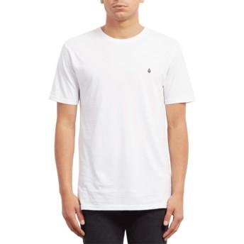 Camiseta manga curta branco Stone Blank White da Volcom