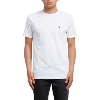 Camiseta manga curta branco Stone Blanks White da Volcom