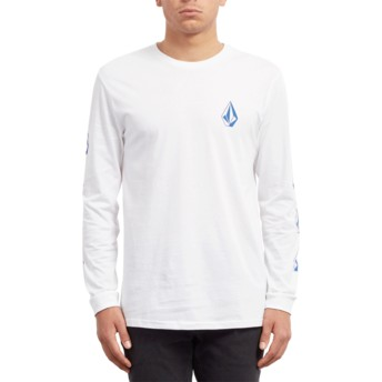 Camiseta manga comprida branco Deadly Stone White da Volcom