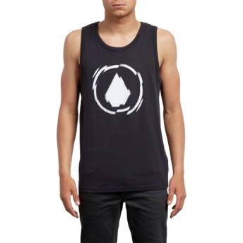 Camiseta sem mangas preto Shatter Black da Volcom