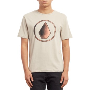 Camiseta manga curta bege Removed Oatmeal da Volcom