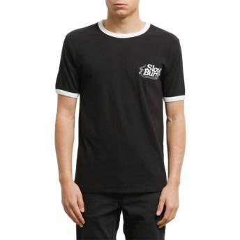 Camiseta manga curta preto Slowburn Black da Volcom
