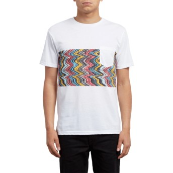 Camiseta manga curta branco Lofi White da Volcom