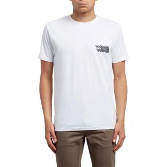 Camiseta manga curta branco Peek A Boo White da Volcom