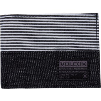 Carteira preta Ecliptic Cloth Black da Volcom