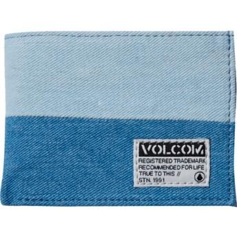 Carteira azul Ecliptic Cloth Indigo da Volcom