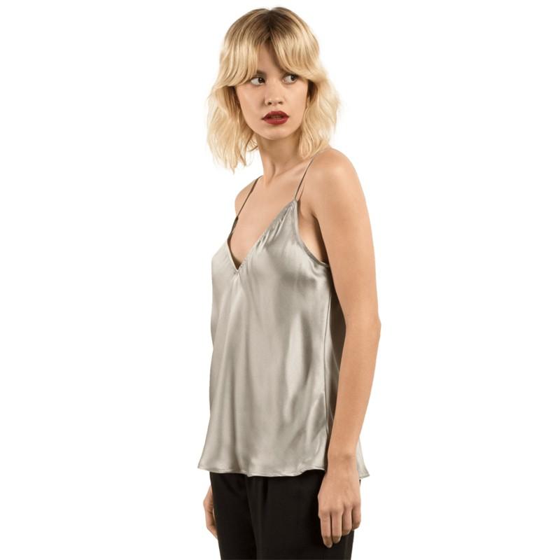 4158294589bc5 Blusa regata cinza GMJ Metalic Silver da Volcom  comprar online en ...