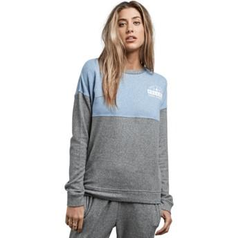 Sweatshirt azul e cinza Lil Charcoal Grey da Volcom