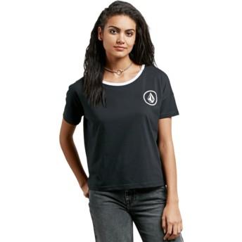 Camiseta manga curta preto Simply Stoned Black da Volcom