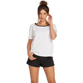 Camiseta manga curta branco One Of Each White da Volcom