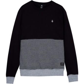 Sweatshirt preto para criança Threezy Black da Volcom