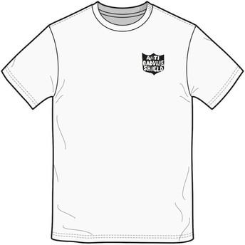 Camiseta manga curta branco Ozzie White da Volcom