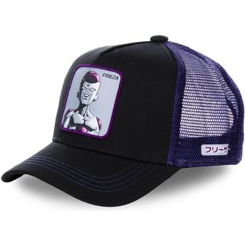 Boné trucker preto e violeta Frieza FREB Dragon Ball da Capslab
