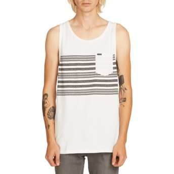 Camiseta sem mangas branco Forzee White da Volcom