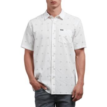 Camisa manga curta branca Trenton White da Volcom