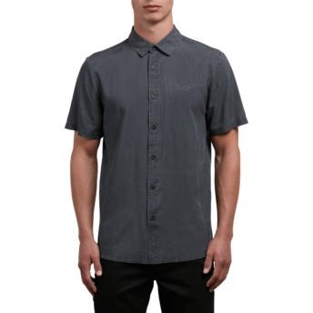 Camisa manga curta preta Chill Out Black da Volcom