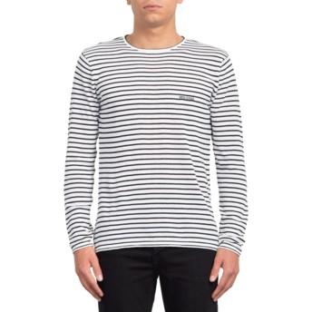 Sweatshirt branco Harweird Stripe II White da Volcom
