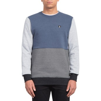 Sweatshirt azul marinho Forzee Indigo da Volcom