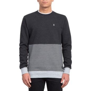Sweatshirt preto Forzee Sulfur Black da Volcom