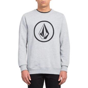 Sweatshirt cinza Stone Storm da Volcom