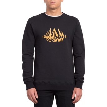 Sweatshirt preto General Stone Black da Volcom